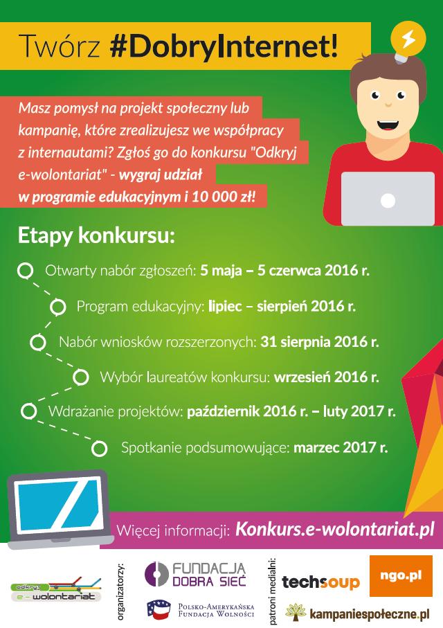 Odkryj_e-wolontariat_ulotka_a5